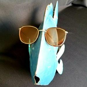 EUC Anne Klein Sunglasses Tortoise w/Gold Frame